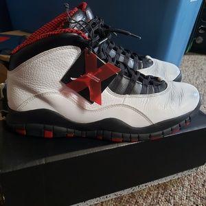 Jordan retro 10 Chicago 2011 release used no box.